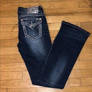Miss me bootcut jeans pants bottoms